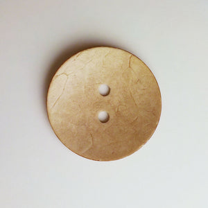Button, 2 inch, 51mm, Bamboo