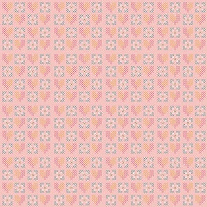 Fabric, Grandale Pink Stitches C7124