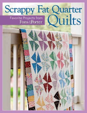 Book, Scrappy Fat Quarter Quilts