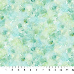 Fabric, Foliage,  Light Turquoise/Green DP23746-62