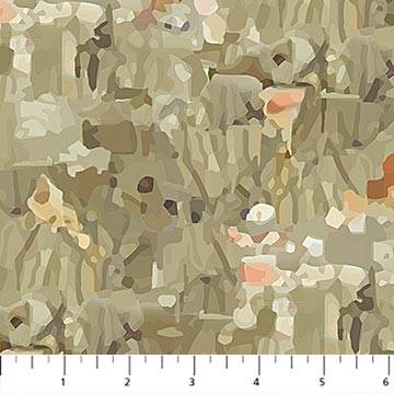 Fabric, Fantasy Forest, Taupe Multi DP23799-14