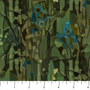 Fabric, Fantasy Forest, Dark Olive DP23800-79