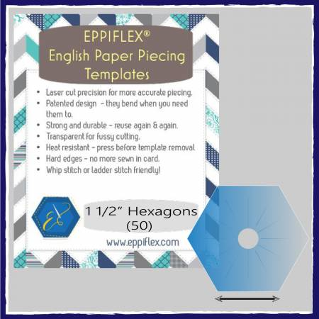 Hexi, Eppiflex Hexagon 1-1/2in # EPPHEX1550