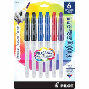 Frixion Color Marker, 6 pack