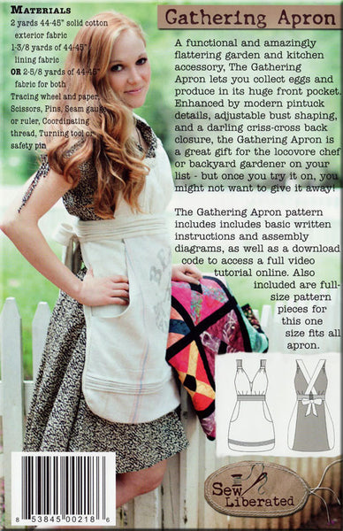 Pattern, Gathering Apron