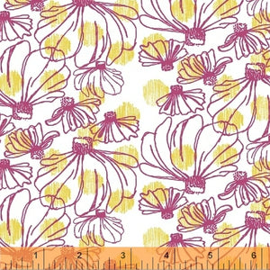 Fabric, Homeward Pink Coneflower 50809-8