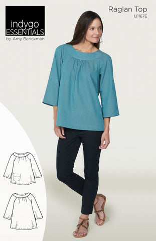 Pattern, Raglan Top