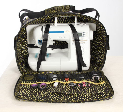 Sewing Machine and Extension Table Tote Pattern   Among Brenda\'s Quilts