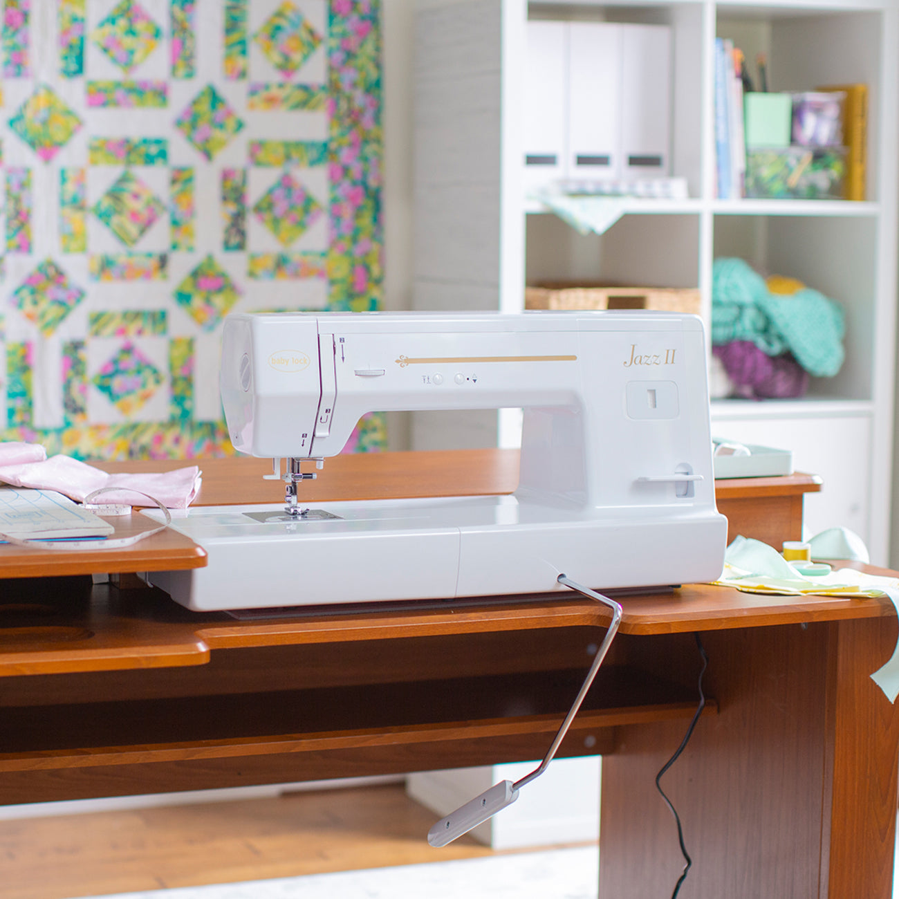 Sewing and Quilting Machine, Jazz II