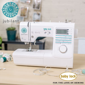 Sewing Machine, Jubilant