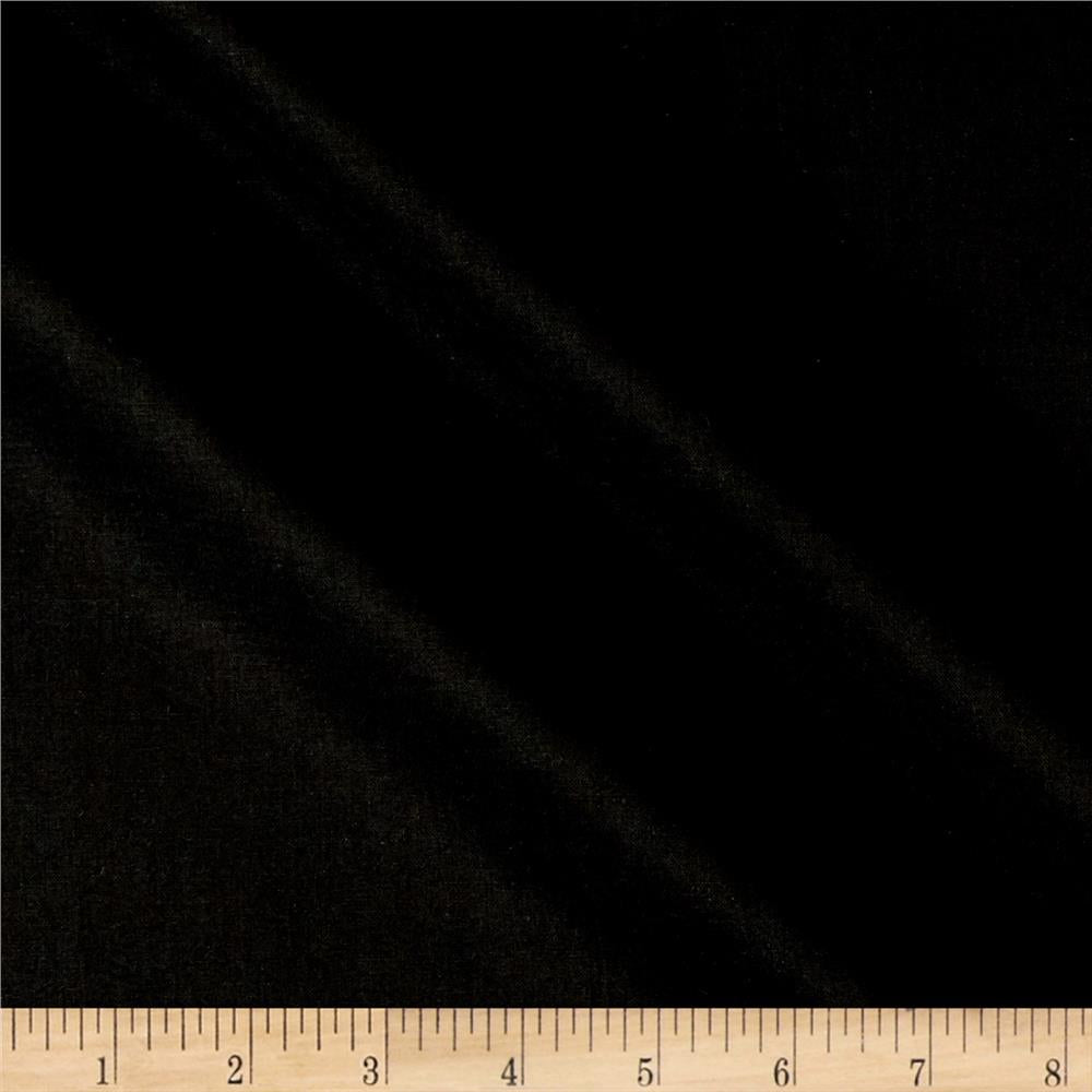Fabric, Kona Cotton Black K101-9
