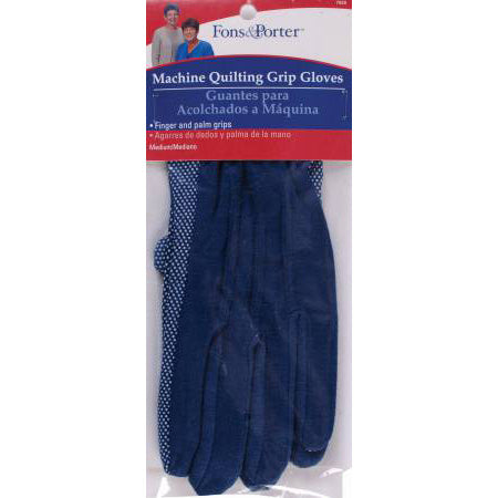 Machine Quilting Gloves - Medium