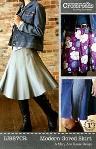 Patterns, Modern Gored Skirt
