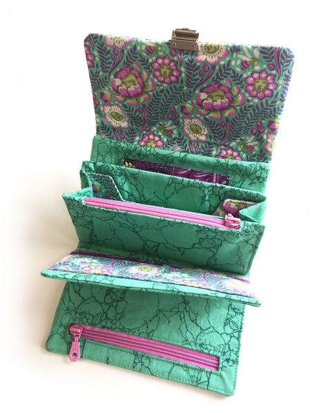 Pattern, Chatelaine Multi-Featured Wallet