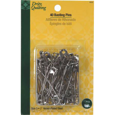 Pins, Basting Safety