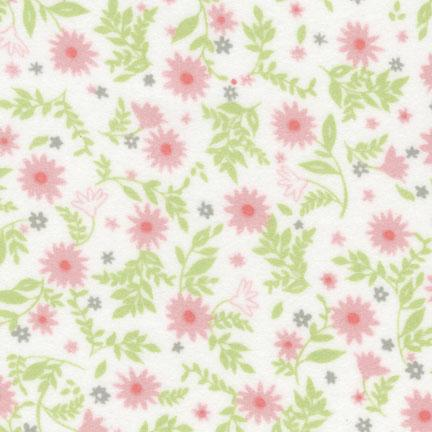 Fabric Flannel, SRKF-14732-10 Pink