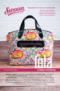 Swoon Pattern, Lola Domed Handbag SWN017