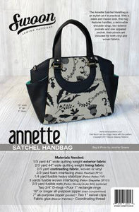 Swoon Pattern, Annette Satchel Handbag SWN021