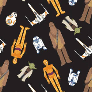 Fabric, Star Wars, Tossed In Space, 73011106-2