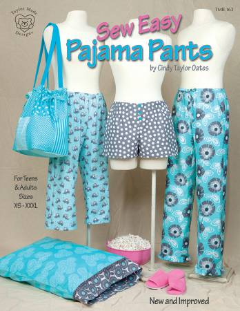 Sew Easy Pajama Pants, Cindy Taylor