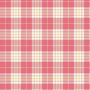 Fabric Flannel ,Primo Plaids Aunt Grace Pink U091-0126