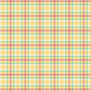Fabric Flannel ,Primo Plaids Aunt Grace Gold U093-0133