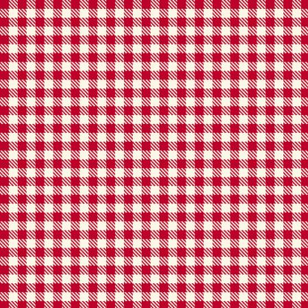 Fabric Flannel ,Primo Plaids Aunt Grace Red U095-0111