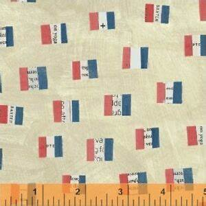 Fabric, Wonder French Flag