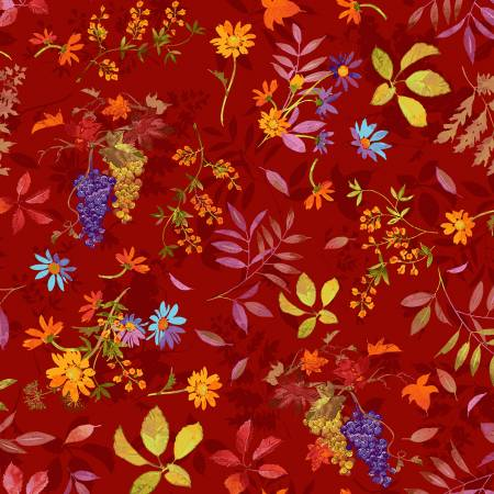 Fabric, Autumn Air, Light Brick Fall Bounty Y3000-50