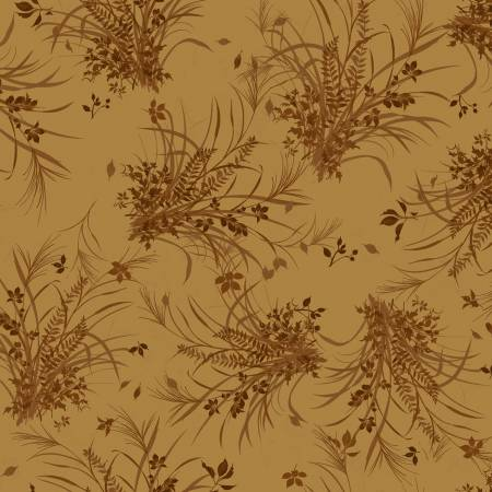 Fabric, Autumn Air, Carmel Harvest Tonal Y3001-25