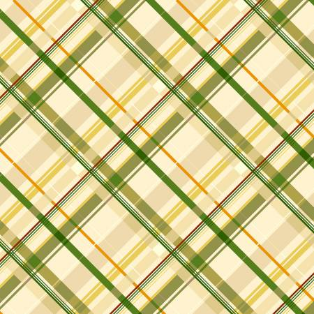 Fabric, Autumn Air, Green Pretty Plaid Y3003-21