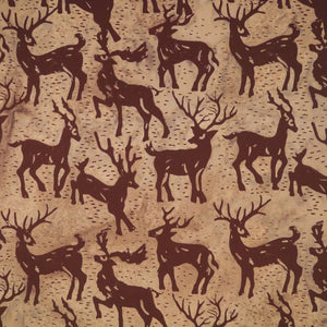 Fabric, Batik, Harvest Moon,Bark Wood -  AT-42/6448