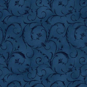 "Fabric, 108"" Wide Back, Beautiful Backing Midnight Blue"