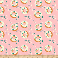 Fabric, Foodtrucks, Pink Donut Delight 209431