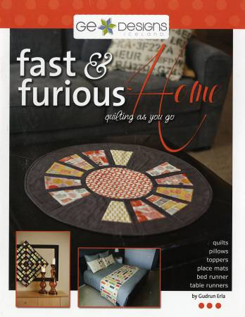 Book, Fast and Furious Home Quilting as You Go