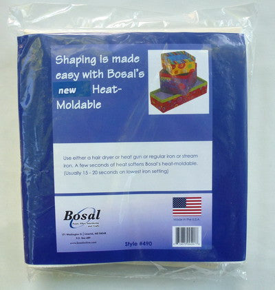 "Bosal Heat Moldable, 20"" x 36"""