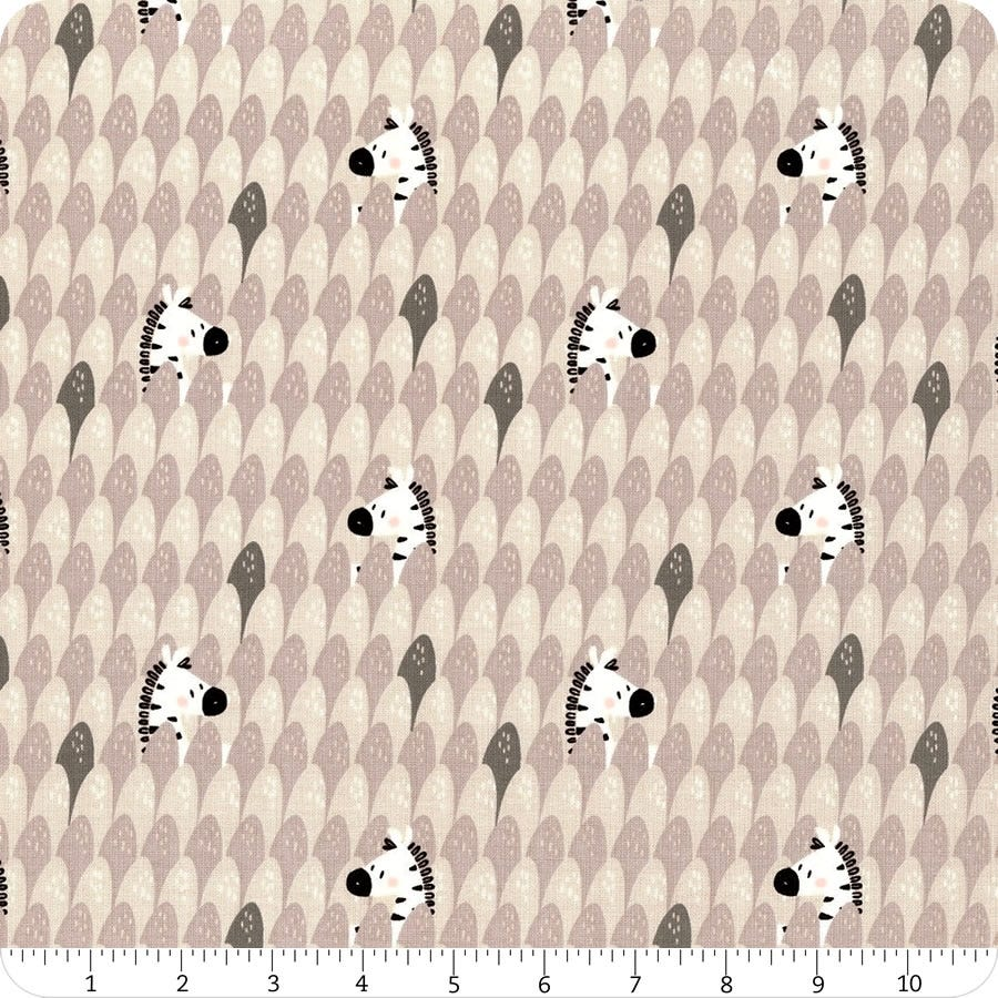 Fabric, Zebra Peek A Boo 21180905-2