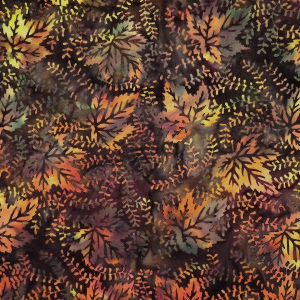 Fabric, Batik, Harvest Moon, Peppery -  WF-16/1896