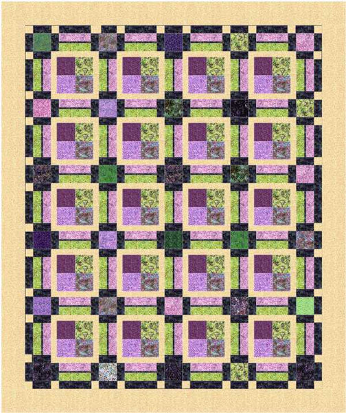 Pattern, Piccadilly Quilt, multi-sized