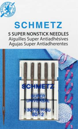 Copy of Schmetz Super Nonstick Needle 5ct, Size 80/12 # 4502