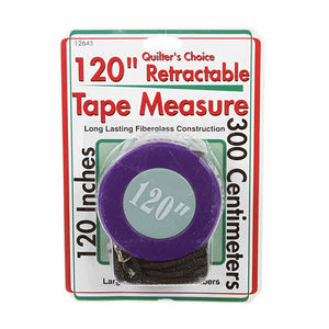 Tape Measure, Retractable 120""