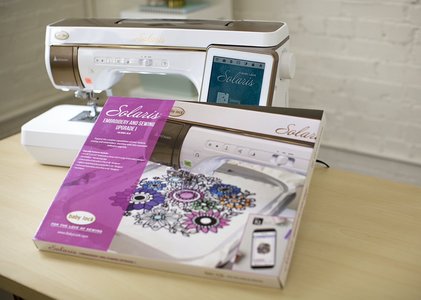 Sewing Machine Accessory, Solaris Embroidery and Sewing Upgrade I