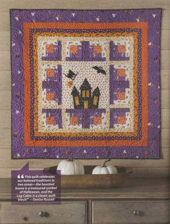Book, Halloween Quilting - A Project For Every Room