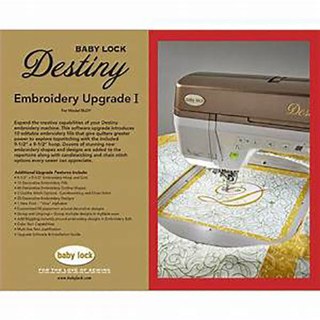 Sewing Machine Accessory, Destiny Embroidery Machine Upgrade 1, BLDY-U