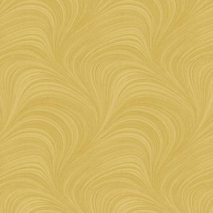 Fabric, Wave, Gold 02966-33