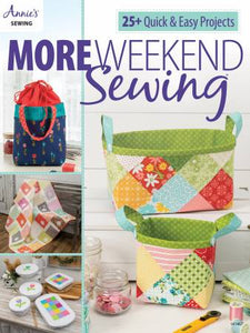 Book, More Weeknd Quilting