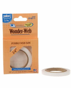 "Wonder-Web Pellon, 1/4"" wide"