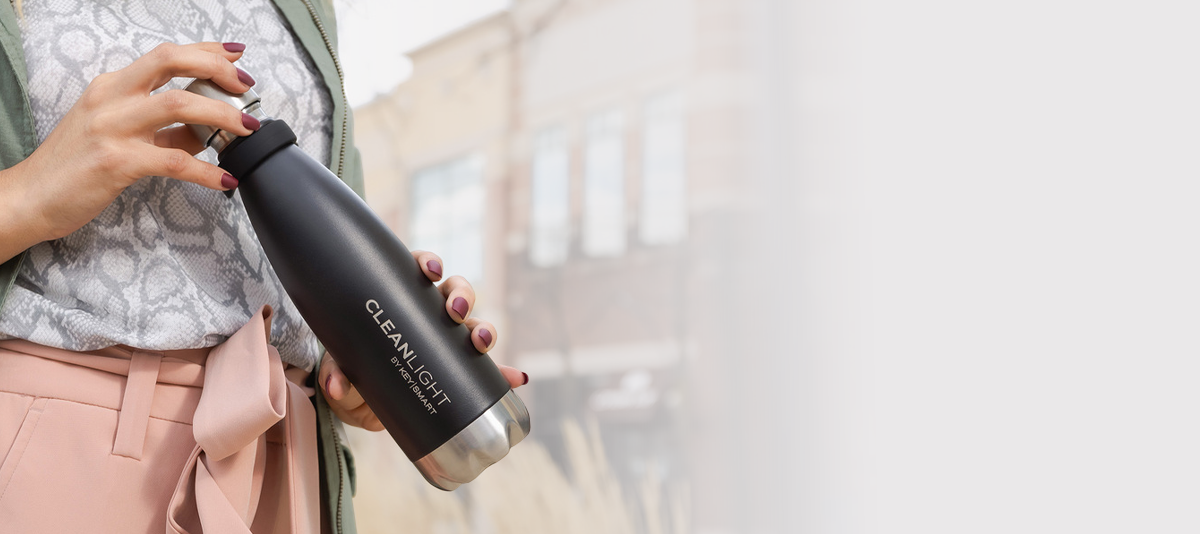 Take clean water along—wherever you go!
