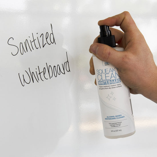 Squeaky Clean Whiteboard Cleaner, 8 oz.
