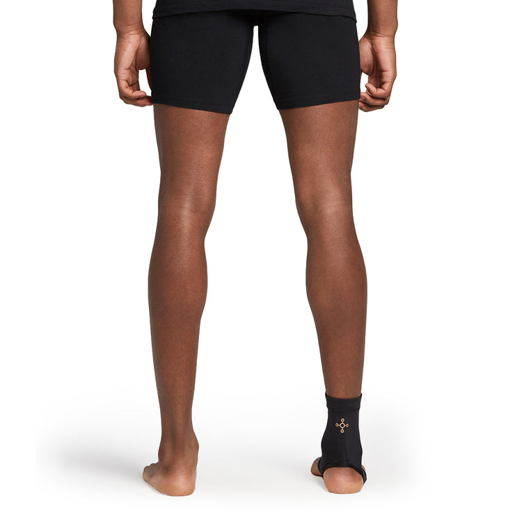 Unisex Black Core Compression Ankle Sleeve